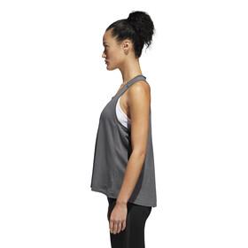 adidas Response - Camiseta sin mangas running Mujer - gris